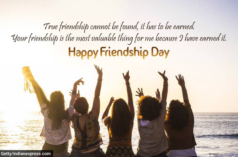Happy Friendship Day 2020 Wishes Images: