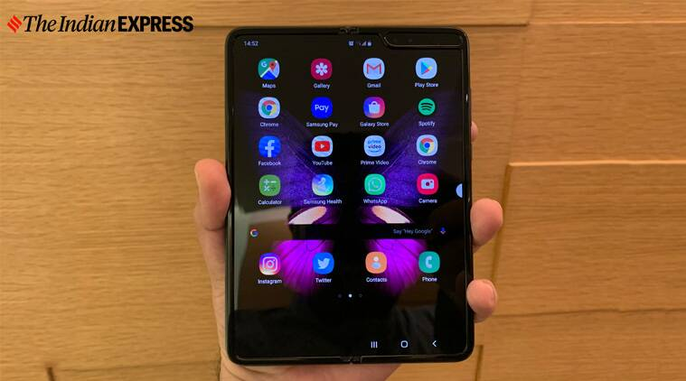 You might have to wait a bit longer for the Samsung Galaxy Fold 2 - The Indian Express