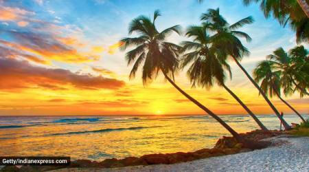 Barbados, remote work visa, work from home, lockdown monotony, travelling to Barbados, indian express, indian express news