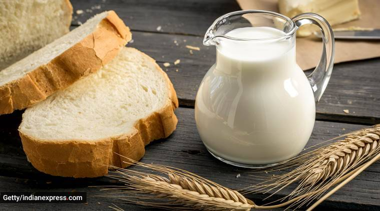 skincare, skincare tips, easy face packs to make at home, milk and bread for skincare, indian express, indian express news