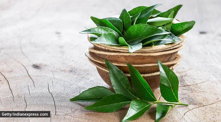 premature greying of hair, hair masks, hair care, curry leaves hair mask, kadi patta for hair care, indian express, indian express news