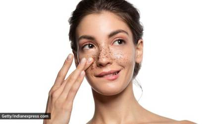 monsoon skincare, easy face scrubs to make at home, skincare DIYs, skincare tips, indian express, indian express news