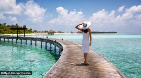 Maldives, travelling to Maldives, international travel, India to Maldives, pandemic guidelines for travel to Maldives, indian express, indian express news