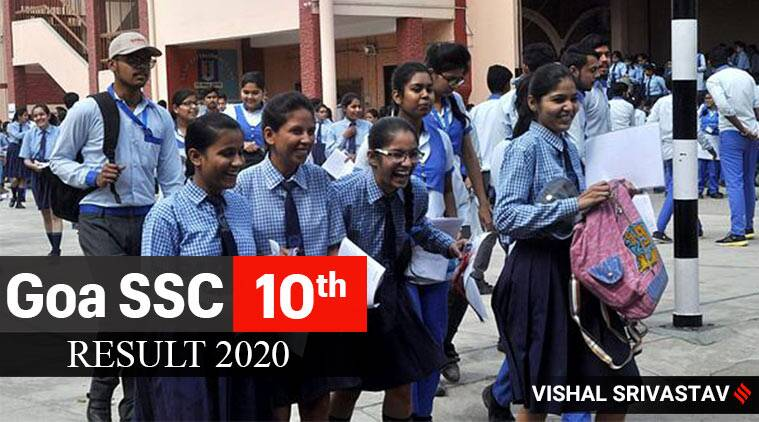 Goa GBSHSE SSC 10th result 2020:
