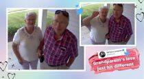 These grandparents leave surprise doorcam message while grandson is on vacation, win hearts online