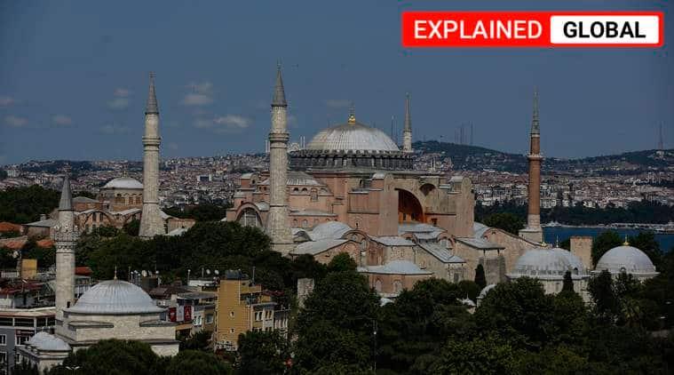 Hagia Sophia, Hagia Sophia museum, mosque, cathedral, Istanbul Hagia sophia, Turkey, Hagia Sophia controversy, indian express