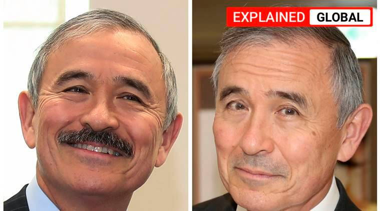 Harry Harris, Harry Harris moustache, South Korea envoy shaves moustache, Harry Harris South Korea, indian express
