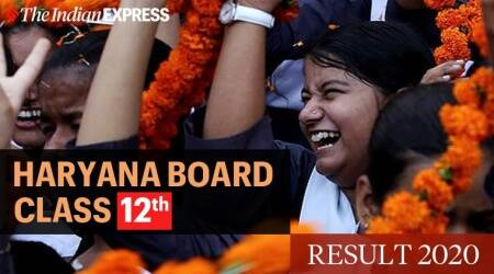 HSEB result, class 12th result, Haryana board, Chandigarh news, indian express news
