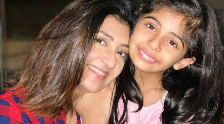 Actor Juhi Parmar, Juhi Parmar lockdown experience, Juhi Parmar and daughter, parenting, indian express, indian express news