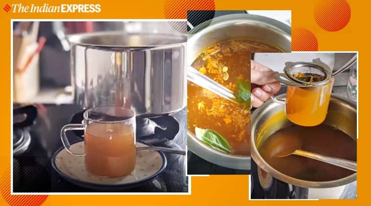 kadha recipe, immunity boosting recipes, ayurveda drinks, indianexpress.com, covid immunity, how to build immunity, anahita dhondy, indianexpress,