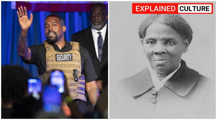 Harriet Tubman, who is Harriet Tubman, Harriet Tubman kanye west, Harriet Tubman controversy, Kanye West presidential speech, Kanye West criticises harriet tubman, express explained, us army, us civil war, indian express