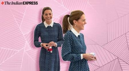 Kate Middleton, Kate Middleton fashion, Kate Middleton post coronavirus outing, england post covid 19 events, indian express
