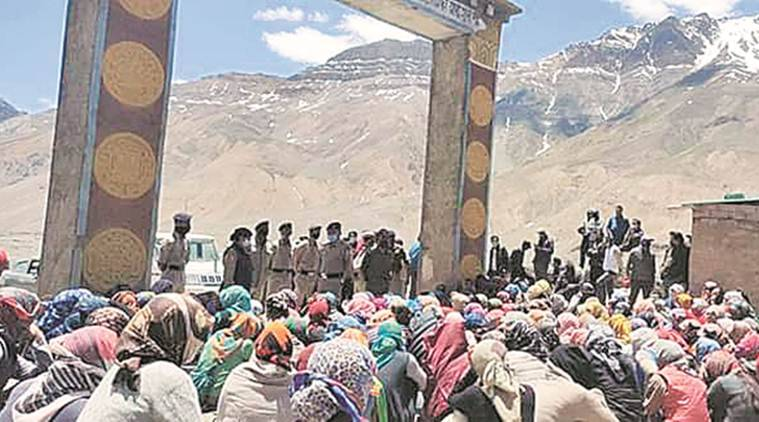 In Himachal's Kaza village, a woman from nearly every house now faces police case