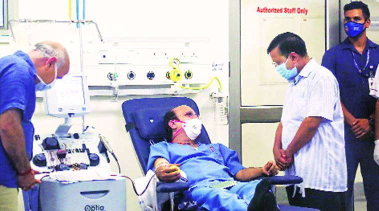 As plasma bank opens, Kejriwal says will end 'chaos' in looking for donors