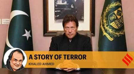 imran khan, imran khan osama bin laden, imran khan osama martyr remark, osama bin laden, Khawaja Asif, Khaled Ahmed writes, pakistan news