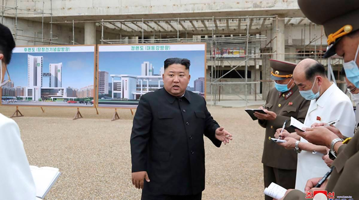 Kim Jong Un, North Korea, Pyongyang General Hospital, North Korea economy, North Korea sanctions, Indian Express