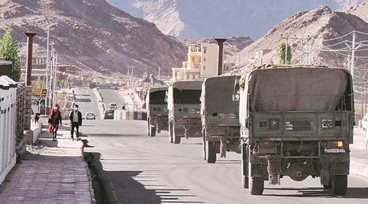 India China Ladakh, India chin aborder dispute, Pangong Tso and Gogra, Ladakh India China, LAC India China talks, India China army, indian express