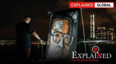 Liu Xiaobo, who is Liu Xiaobo, Liu Xiaobo anniversary, Liu Xiaobo death, Liu Xiaobo arrest, Liu Xiaobo China, China dissent, Indian Express