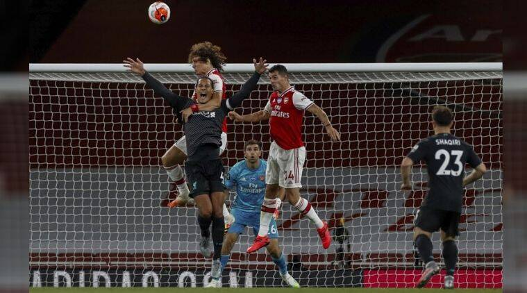 Premier League Liverpool Loses 2 1 At Arsenal Ending Bid For Points Record Wb Mirror