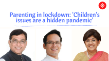 Parenting in lockdown: 'Children's issues are a hidden pandemic' | Part 2