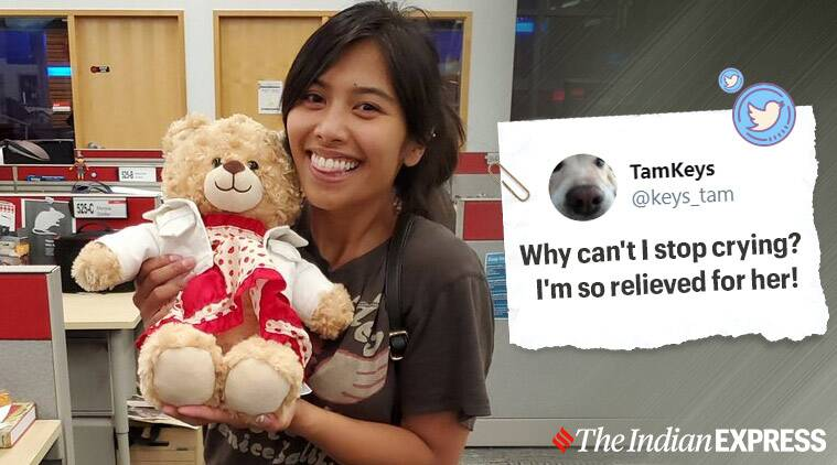 Stolen teddy bear with dying mom's message found, Canada, missing teddy, viral story, missing teddy found