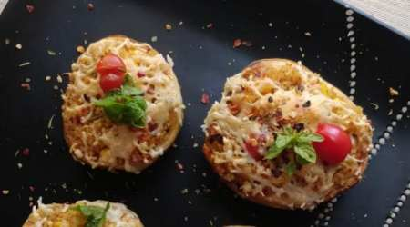 stuffed potato boats, stuffed potato boats recipe, stuffed potato boats recipe, easy millet recipe, indian express, indian express news