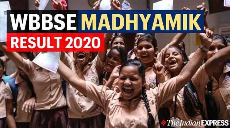 WBBSE Madhyamik 10th Result 2020