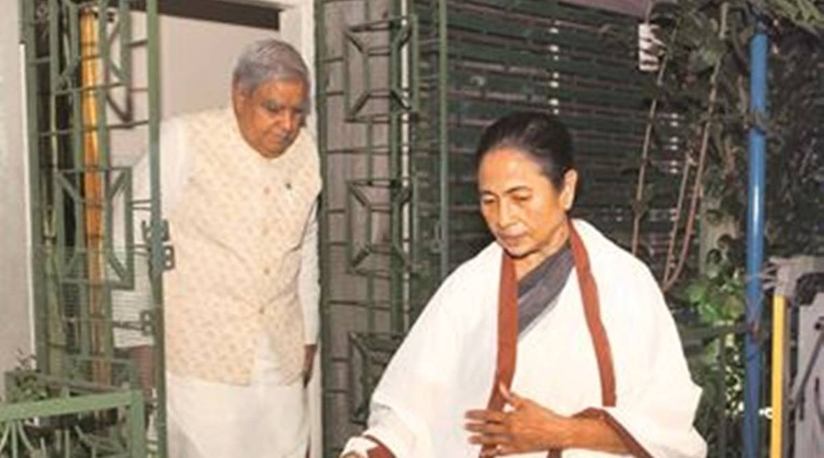 Meeting lasted for 10 minutes: Mamata meets Governor hours after he slams Trinamool's 'outsider' digs at BJP