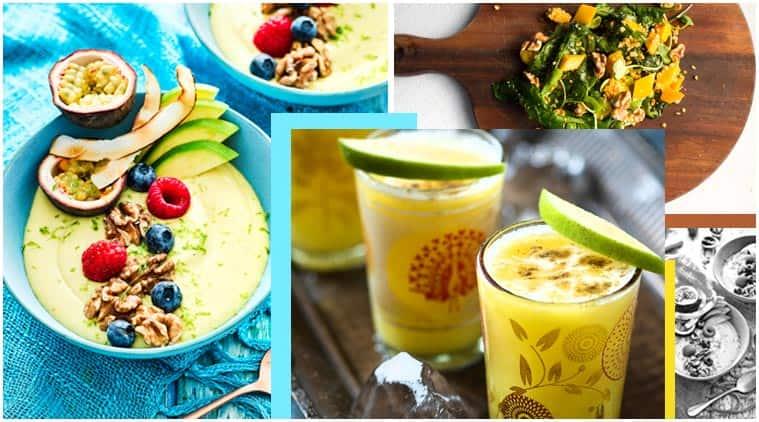 mango-walnut recipes, easy recipes, indianexpress, mango recipes, indianexpress.com,