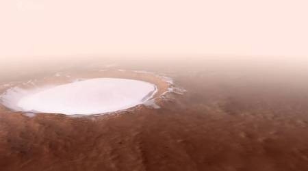 Mars crater, korolev crater footage, ESA, European Space Agency, korolev crater water, mars tourism, elon musk, mars news