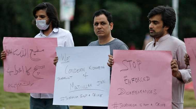 Matiullah Jan, Pakistan journalist abducted, who is Matiullah Jan, Matiullah Jan abduction, Matiullah Jan kidnapping, Pakistan news, Imran Khan, Indian Express