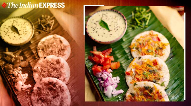 mini uttapams, spicy breakfast options, easy recipes, meghnasfoodmagic, spicy mini uttapams, indianexpress.com, indianexpress