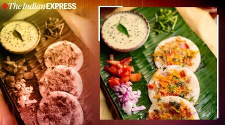 mini uttapams, spicy breakfast options, easy recipes, meghnasfoodmagic, spicy mini uttapams, indianexpress.com, indianexpress