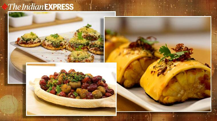 monsoon recipes, easy recipes, corn recipes, sev puri, paneer recipes, snacks recipes, indianexpress.com, indianexpress, chef harpal singh sokhi,