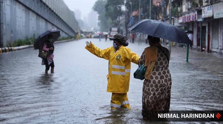Mumbai Waterlogging, Mumbai rain, IMD department, Maharashtra weather, Mumbai news, Indian express news