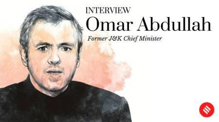 omar abdullah interview, omar abdullah interview indian express, omar Abdullah, jammu kashmir Article 370 anniversary,