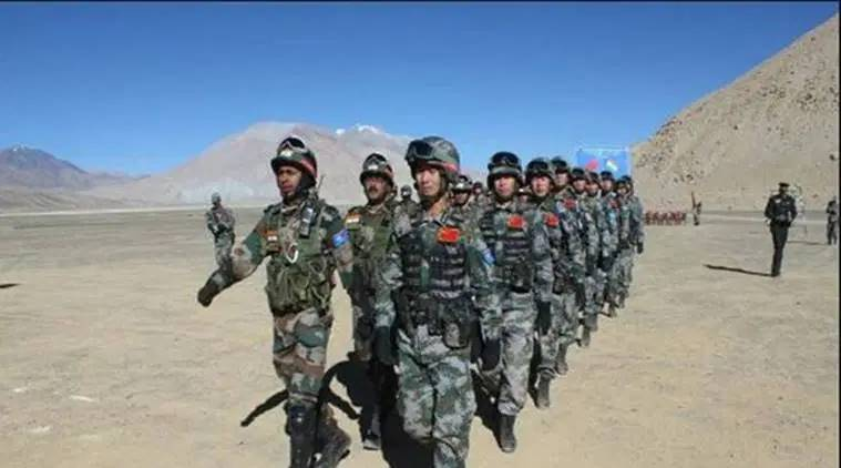 PLA troop movement, LAC, Pangong clash, Indian army, Indian express news