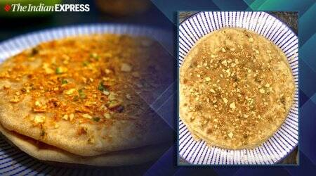 Papad stuffed parantha, easy parantha recipes, indianexpress.com, meghna's food magic, indianexpress.com, indianexpress,