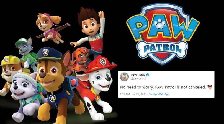 Paw Patrol, White house, paw patrol cancelled, press secretary, Kayleigh McEnany, cancel culture, trending news, Indian Express news.