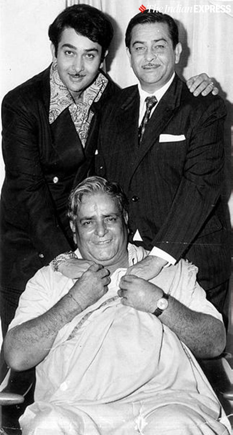 prithviraj kapoor with
