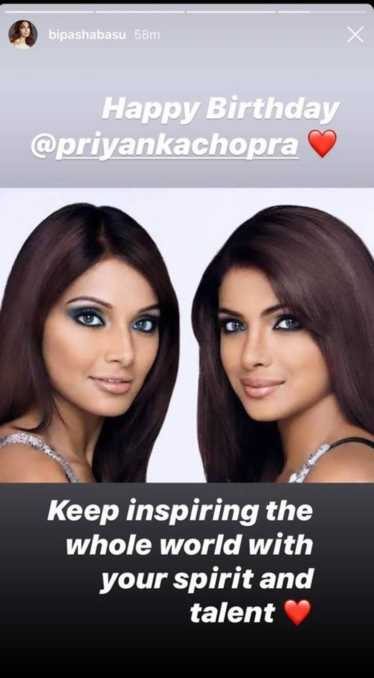 bipasha basu with priyanka chopra