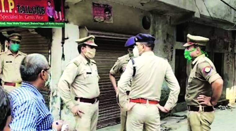 Ghaziabad murder, Ghaziabad father daughter murdered, Shahibabad murder, UP Police, Indian express