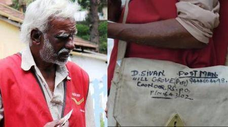 Meet postman Sivan, who trekked 15 kms daily through forest to deliver mail