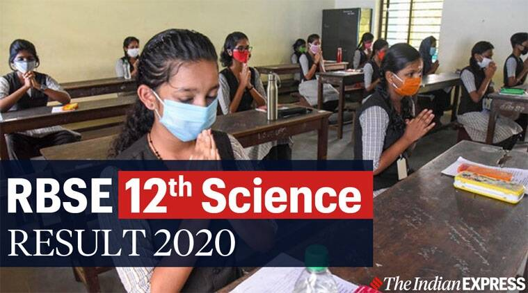 RBSE 12th Science Result 2020