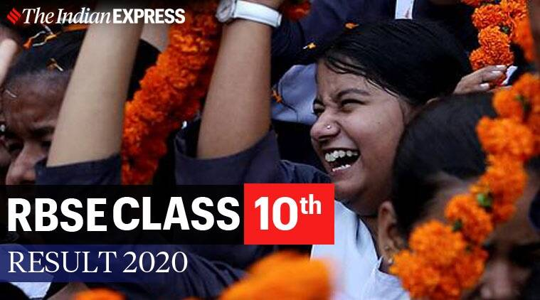 Rajasthan Board 10th Result 2020