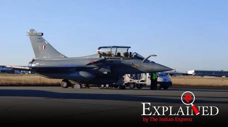 Rafale Fleet Enters Indian Airspace, Lands in Ambala