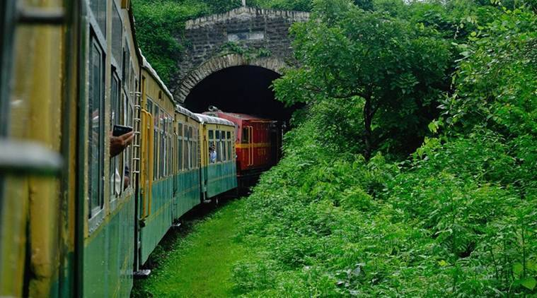 Rail Tunnel, World's first electrified rail tunnel, double-stack container goods train, Railways, Indian Express