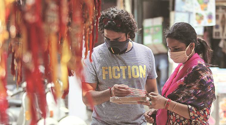 Pandemic shadow over festival: As siblings refrain from visiting each other, 'rakhi' business takes a hit