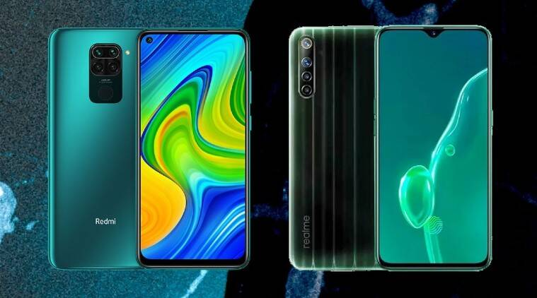 Redmi Note 9 vs Realme Narzo 10, Redmi Note 9, Realme Narzo 10, Redmi, Realme, Redmi Note 9 specs, Redmi Note 9 specifications, Realme Narzo 10 specs, Realme Narzo 10 specifications
