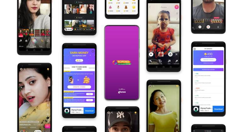Roposo and ShareChat among biggest beneficiaries of Chinese app ban - The Indian Express